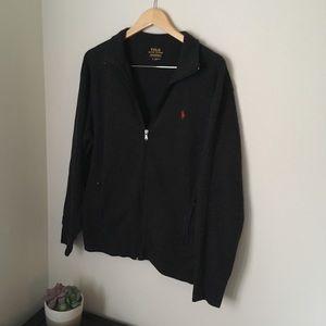 Charcoal gray polo Ralph Lauren jacket